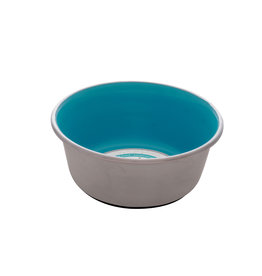 DogIt Dogit Stainless Steel Non-Skid Dog Bowl - Blue - 350 ml (11.8 fl.oz.)