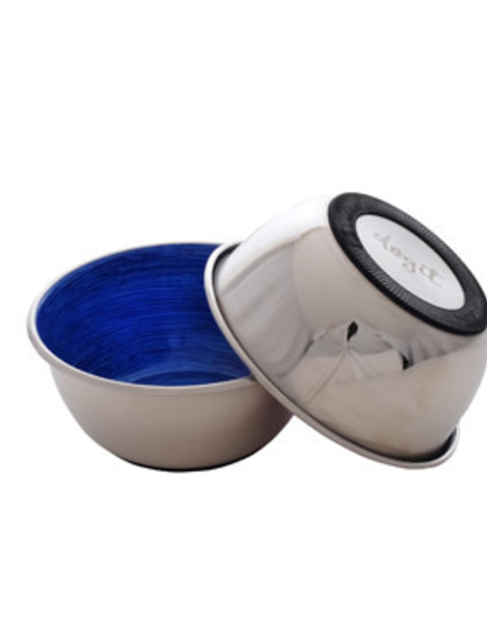 DogIt Dogit Stainless Steel Non-Skid Dog Bowl - Blue Swirl - 500 ml (17 fl.oz.)