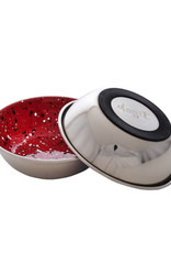 DogIt Dogit Stainless Steel Non-Skid Dog Bowl - Red Speckle - 350 ml (11.8 fl.oz.)