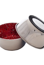 DogIt Dogit Stainless Steel Non-Skid Dog Bowl - Red Speckle - 950 ml (32 fl.oz.)