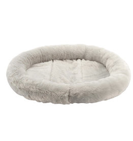 DogIt Dogit DreamWell Oval Sleeping Mat - Gray - XSM - 17 x 14 x 2 in
