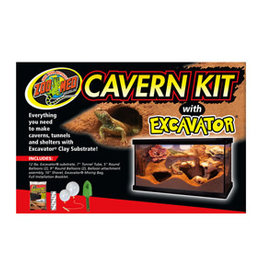 ZOO MED LABORATORIES Zoo Med Cavern Kit with Excavator Clay 12lbs