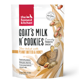 Honest Kitchen HK Dog Goat's Milk N' Cookies w/ Peanut Butter & Honey 8 oz