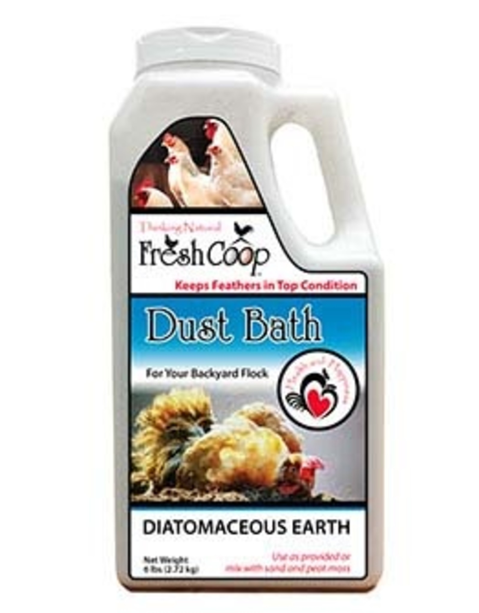 Absorbent Products Fresh Coop Dust Bath 2.72kg