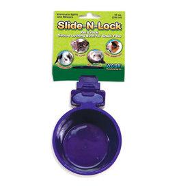WARE MANUFACTURING Slide-N-Lock Pet Crock 10oz