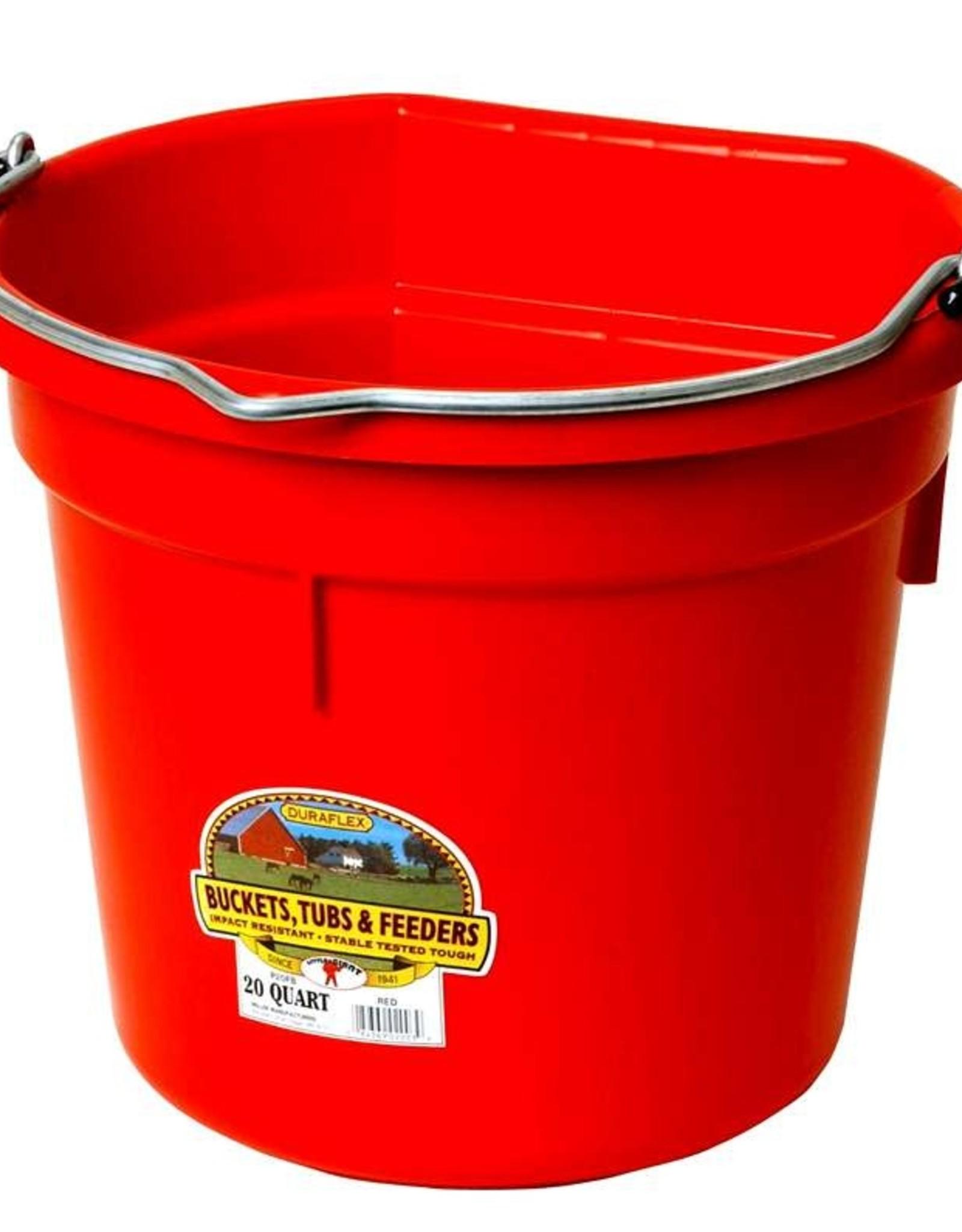 MILLER MFG CO INC       P Berry Flat Back Bucket 20qt