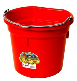 MILLER MFG CO INC       P Red Flat Back Bucket