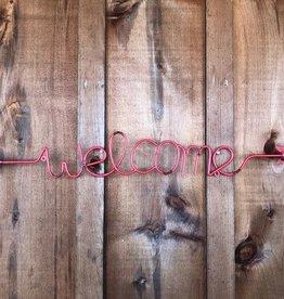 Tough 1 Welcome Arrow Wall Art