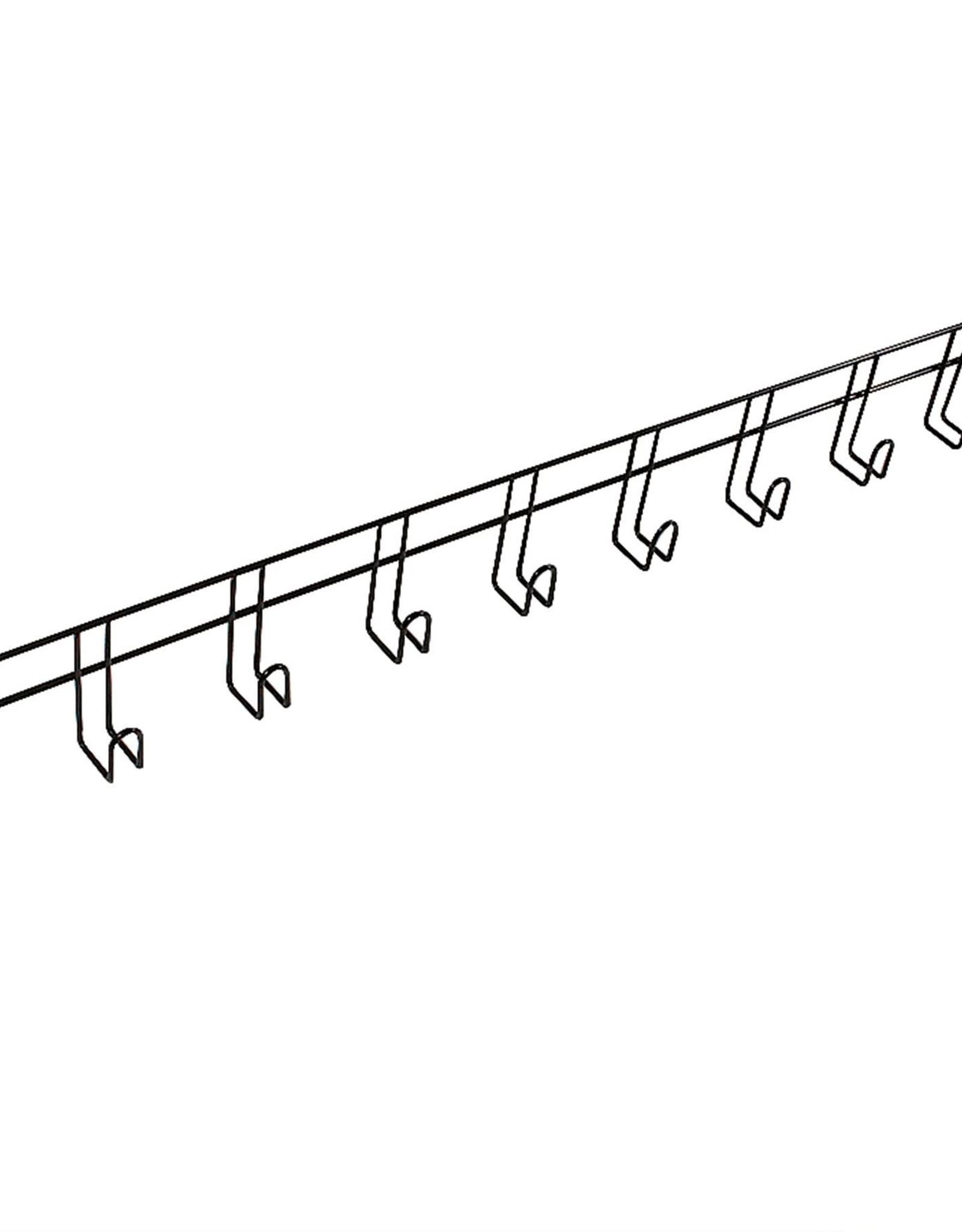 Ger Ryan Ger-Ryan Bridle Rack 10 Hook Black
