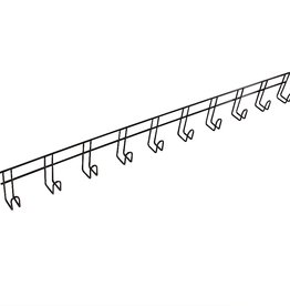 Ger Ryan Ger-Ryan Bridle Rack 10 Hook Black