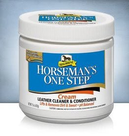 Absorbine Horseman's One Step Leather Cleaner&Conditioner 425g