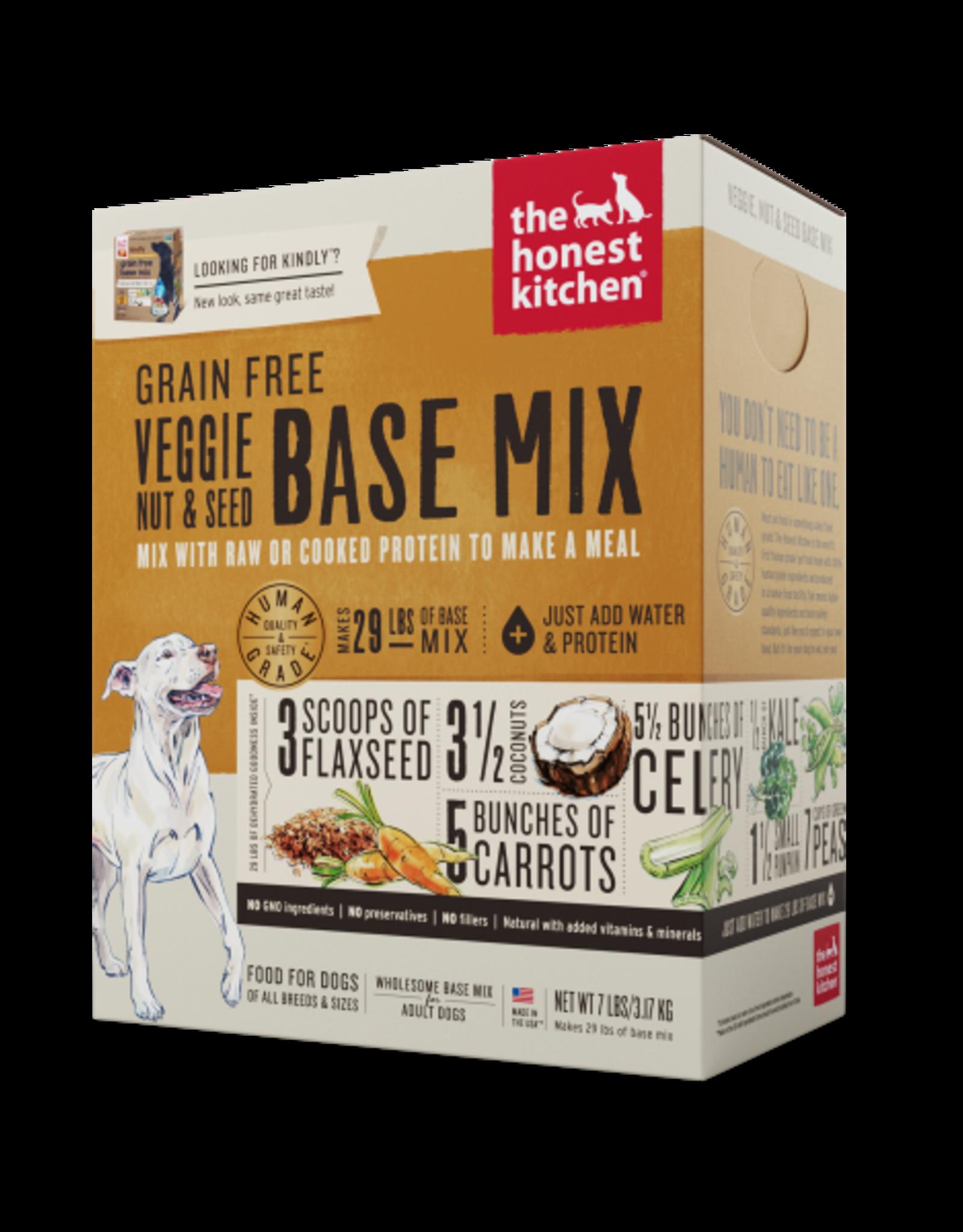 Honest Kitchen HK Dog Dehydrated GF Veggie Nut & Seed Base Mix 7 lb