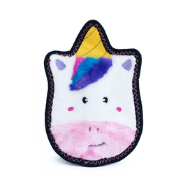 Zippy Paw ZippyPaws Z-Stitch Squeaker Toy Sprinkles the Unicorn