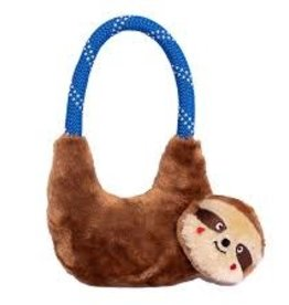 Zippy Paw Zippy Paws Rope Hangerz Tug Toy Sloth