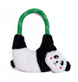 Zippy Paw ZippyPaws Rope Hangerz Tug Toy Panda