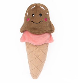 Zippy Paw ZippyPaws NomNomz Squeaker Toy Ice Cream