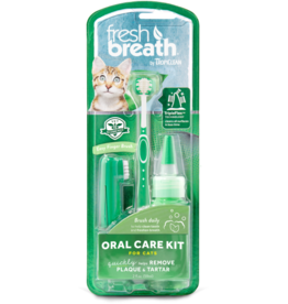 Tropiclean TropiClean Fresh Breath Oral Care Brushing Kit for Cats 2oz