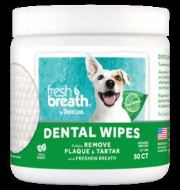 Tropiclean TropiClean Fresh Breath Dental Wipes 50 ct