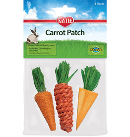 KAYTEE PRODUCTS INC Chew Toy Carrot Patch | 3PK