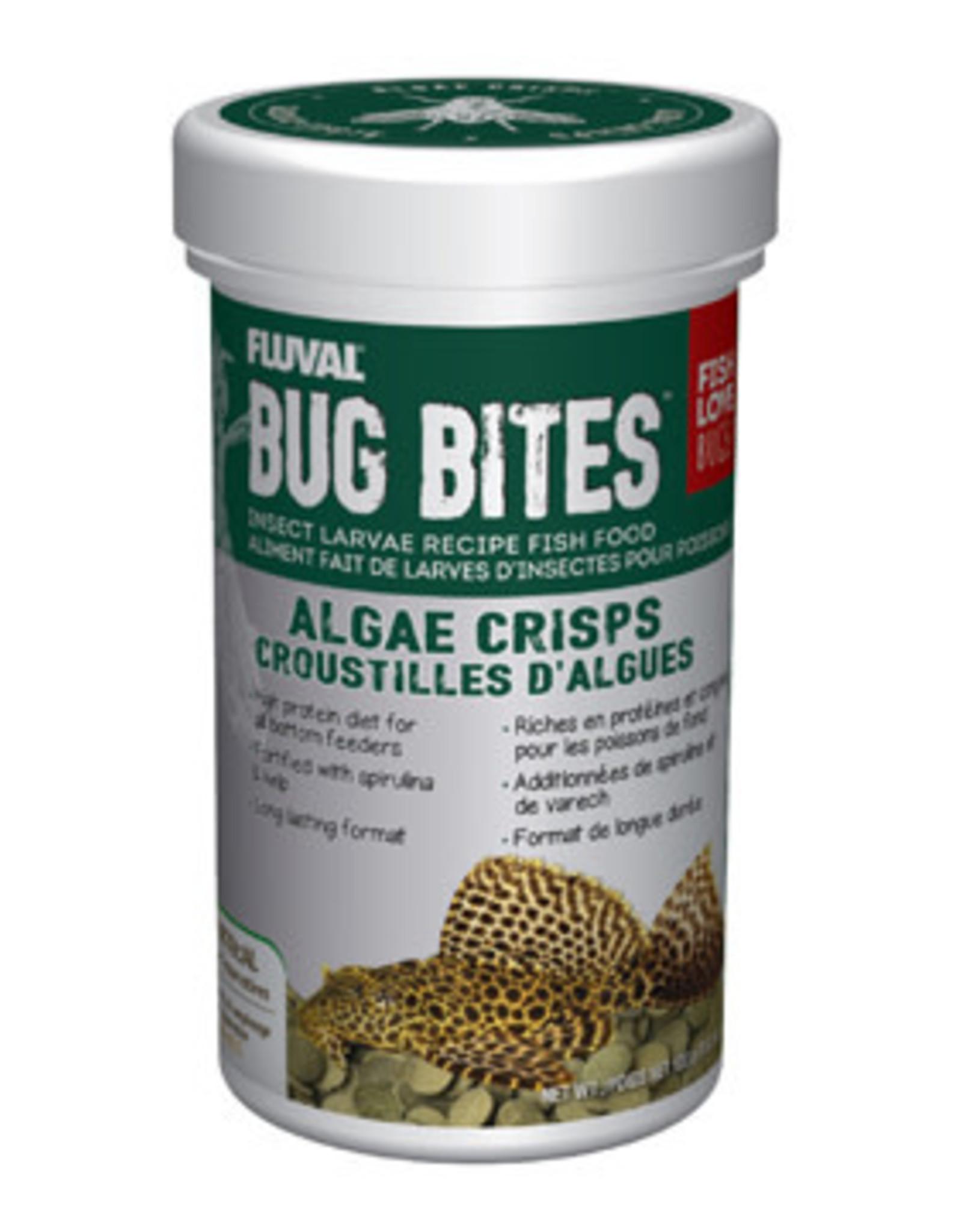 Fluval Fluval Bug Bites Algae Crisps - 100 g (3.52 oz)