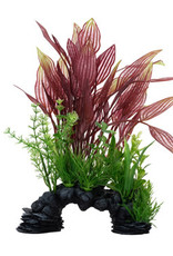 Fluval Sea Fluval Aqualife Deco Scapes Red Lace Plant Mix - 30.5 cm (12 in)