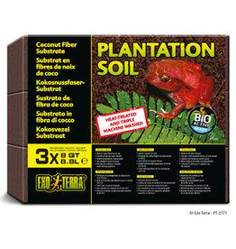 EXO-TERRA Exo Terra Plantation Soil, 8 qt 3 Pack