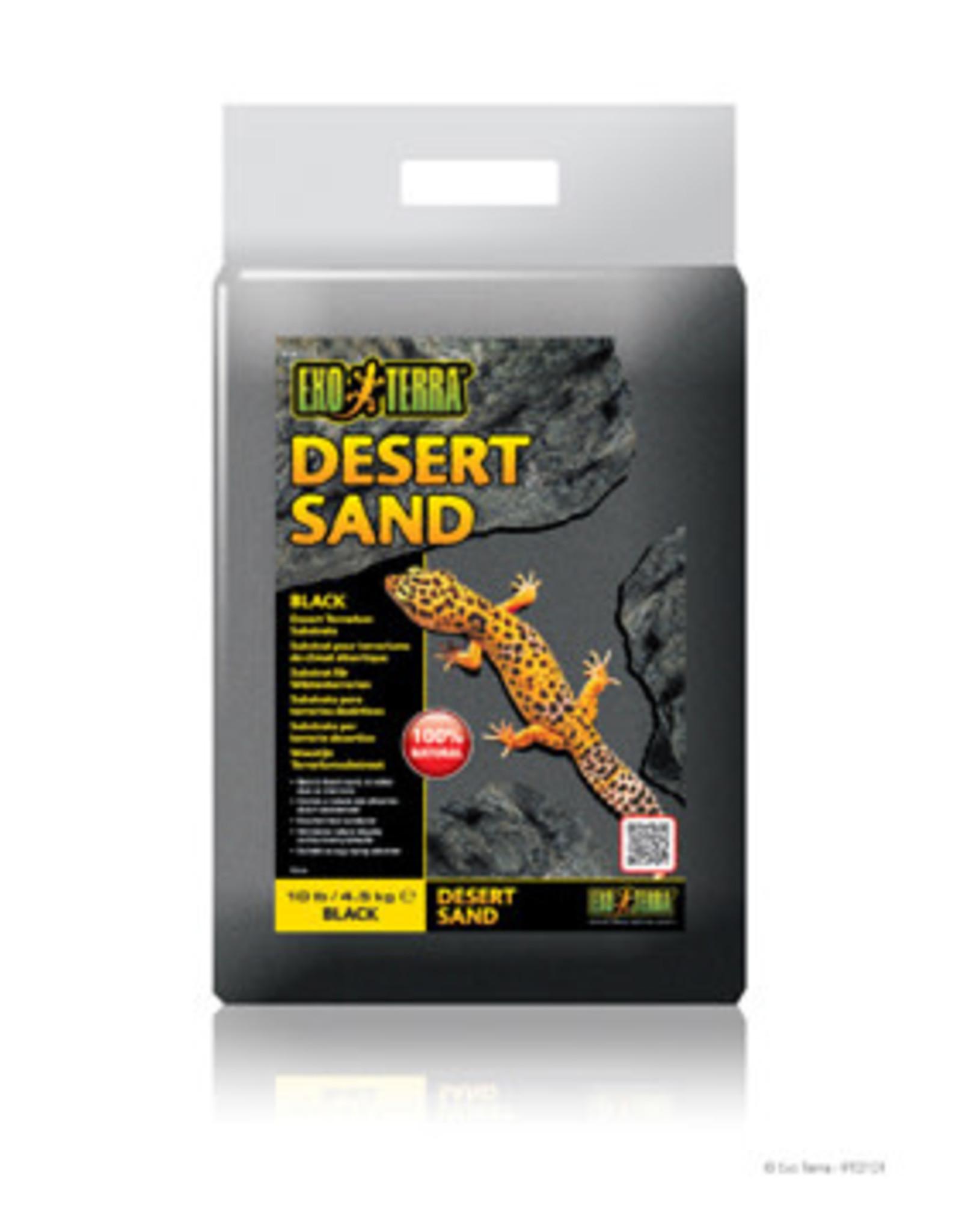 EXO-TERRA Exo Terra Desert Sand, Black, 10 lb