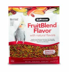 ZUPREEM Zupreem FruitBlend Flavor with Natural Flavors for Medium Birds 907g