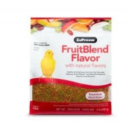 ZUPREEM Zupreem FruitBlend Flavor with Natural Flavors for Very Small Birds 907g