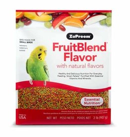 ZUPREEM Zupreem FruitBlend Flavor with Natural Flavors for Small Birds 907g