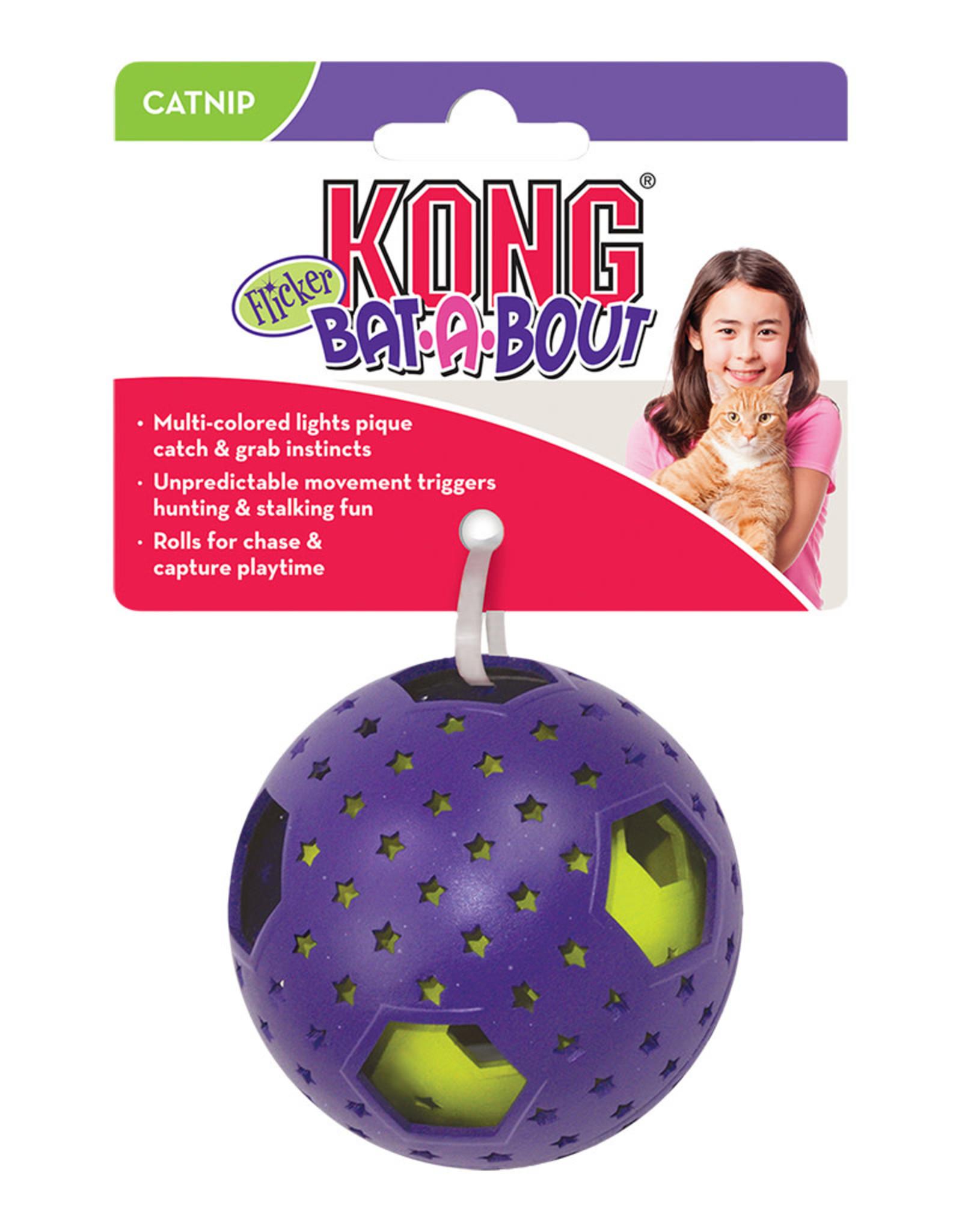 KONG Bat-A-Bout Flicker Disco