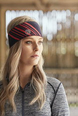 WEATHERBEETA DUBLIN JESSIE HEADBAND TRUE NAVY/POPPY ADULTS ONE SIZE