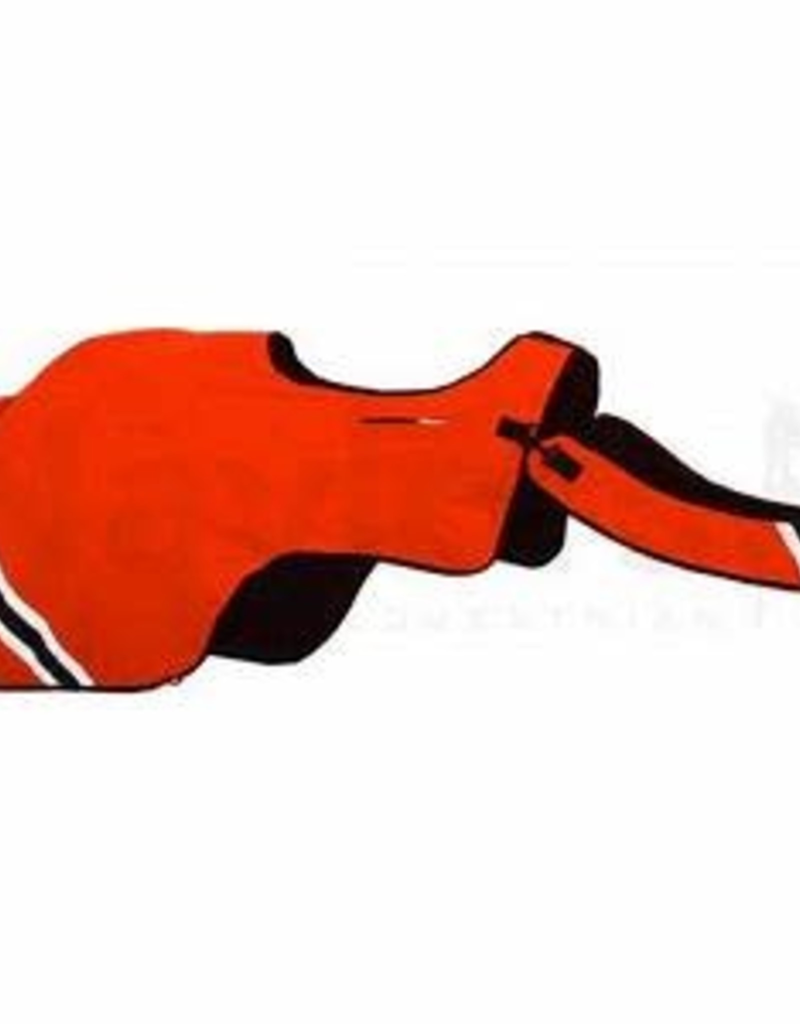 EQUISAFETY WINTER WRAPAROUND RUG RED ORANGE WARMBLOOD