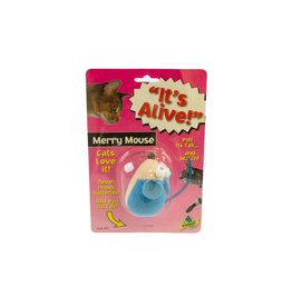 Amazing Pet Products It's Alive! Vibrating Merry Mouse