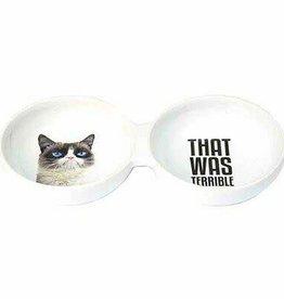 "Grumpy Cat ""That Was Terrible"" Dish"