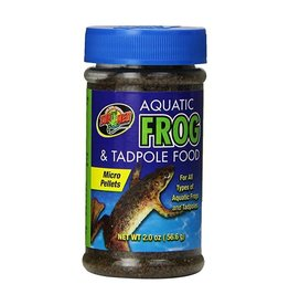 ZOO MED LABORATORIES AQ FROG & TADPOLE FOOD 2OZ