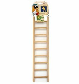 PENN-PLAX INC PPX Bird Ladder Wooden 9 Step