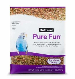 ZUPREEM ZUPREEM PURE FUN BIRD FOOD SMALL BIRD 907G