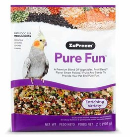 ZUPREEM ZUPREEM PURE FUN BIRD FOOD MEDIUM BIRD 907G
