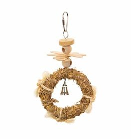 PREVUE PET PRODUCTS INC PREVUE NATURALS CROWN BIRD TOY 4x1.5x8in