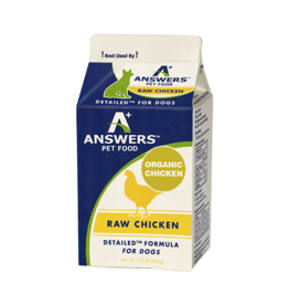 Answers Answers Dog Detailed Raw Chicken Formula 1 lb