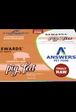 Answers Answers Rewards Raw Fermented Pig Feet 4 pc