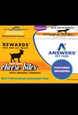 Answers Answers Rewards Raw Goat Milk Cheese Treat w Tumeric 8 oz