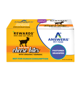 Answers Answers Rewards Raw Goat Milk Cheese Treat w Tumeric 8 oz