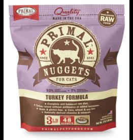 Primal Pet Foods Primal Cat Raw Turkey Nuggets 3 lb