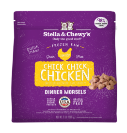 Stella & chewy's Stella&Chewys Cat Raw Chick Chick Chicken Morsels 3 lb