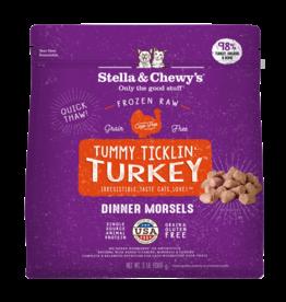 Stella & chewy's Stella&Chewys Cat Raw Tummy Ticklin Turkey Morsels 3 lb