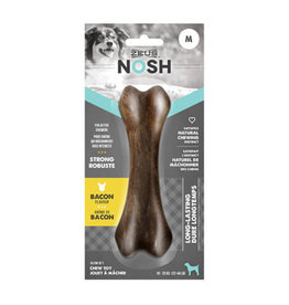 Zeus ZS Nosh Strong Chew Bone, Bacon, M