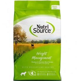 NUTRISOURCE NURTISOURCE  Chicken & Rice 5lbs