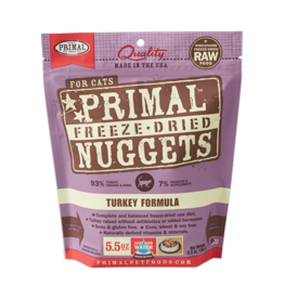 Primal Pet Foods Primal Cat Freeze Dried Turkey 5.5 oz